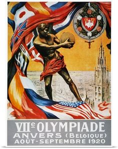 Classic Olympic Art Canvas Print via @greatbigcanvas available for purchase at GreatBIGCanvas.com.