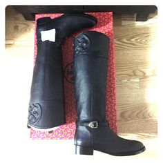 Spotted while shopping on Poshmark: Tory Burch Marlene Riding Boot! #poshmark #fashion #shopping #style #Tory Burch #Shoes
