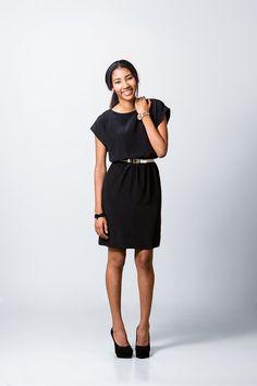Short facile à manches Dress Pattern - taille élastique, Kimono court manchon