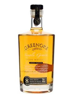 Greenore 8-year-old: A gold medal-winner at the International Wine & Spirits Competition, this unique concoction is a 100% Single Grain Irish whiskey, from the multi-award-winning Cooley distillery in Dundalk. £32.25