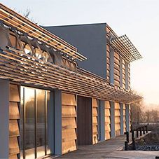 Digital fabrication will revolutionize architecture, and FACIT shows how it's done 3d Printed House, 3d Foto, 3d Architecture, Build Your Own House, Digital Fabrication, Solar House, Eco Friendly House, Modular Homes, Prefab Homes