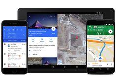 Google Maps recebe novo design e suporte ao Uber e OpenTable