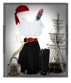 """Pirate Costume"" by terry-tlc ❤ liked on Polyvore featuring картины"