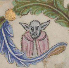 Yoda or Nosferatu? St Florian Psalter, Poland 14-15th c. (Warszawa, BN, 8002 III, fol. 28v) http://www.polona.pl/item/52212659/63/ …