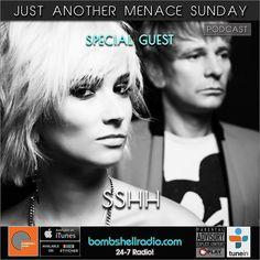"Today The Menace's Attic/Just Another Menace Sunday By Request Thanks Robert! #RadioReplay  #interview w/ SSHH 6pm-8pm EST  3pm-5pm PDT 11pm -1am BST Bombshell Radio bombshellradio.com Bombshell Radio Repeats Tuesday 6am-8am EST 3am-5am PDT 11am-1pm BST BombshellRadio #melodicrock #radioshow #rock #alternative #TuneInRadio #justanothermenacesunday #dj #DennistheMenace #radioreplay #today #Erasure #Newwave #electronic #Synthwave  #pop #BombshellRadio ""Just Another Menace Sunday"" radio thingy…"