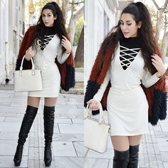 Get this look: http://lb.nu/look/8737569  More looks by Marina Mavromati: http://lb.nu/marinafashionistaa  Items in this look:  Trendsgal Dress, Trendsgal Thigh High Boots   #chic #elegant #street #mmfashionbites #ootd #blogger #fashionblogger #styleblogger #fashion
