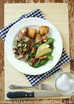 Sirloin Steak with Roasted Potatoes and Asparagus | Recipe | Sirloin ...