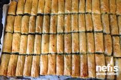 Baklava Yufkasından Ispanaklı Börek Tarifi