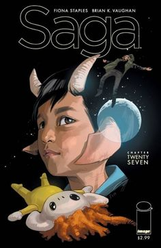 Saga - Issue 27  Can't get enough  Fiona Staples' art is amazing
