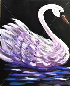 White Swan - Murfreesboro, TN Painting Class - Painting with a Twist