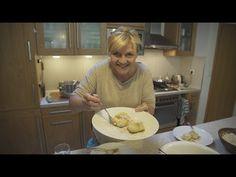 Marhuľové gule zemiakové, tvarohové.