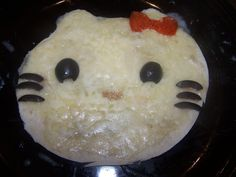 Hello Kitty Tortilla Pizzas - for the young & young at heart