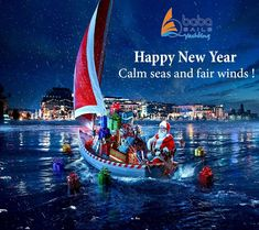 Happy New Year 🌟 Calm Seas and Fair Winds ❗  #newyear #babasails #wishes #halkidiki #thessaloniki #SKG