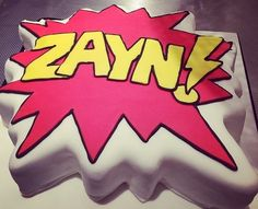 his bday cake! Today's my birthday. It's been amazing.