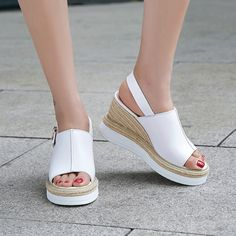 6317178c113a9 Chiko Aldwin Slingback Espadrille Wedge Sandals feature open toe, buckled  slingback, espadrille wedge with