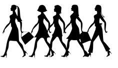 Free Image on Pixabay - Silhouette, Women, Work, Walking Public Domain, Mega Fashion, Fashion Tips, Moms' Night Out, Best Walking Shoes, Woman Silhouette, Free Black, Hobbs, Boss Lady