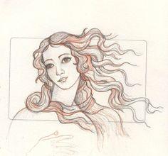 Venus sketch by me-tal