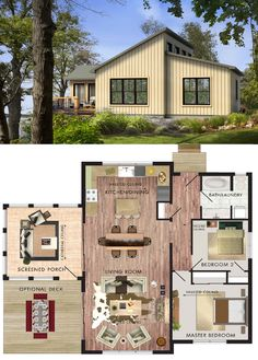 Beaver Homes & Cottages Borealis :: 1024 sq. ft.