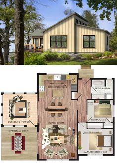 Beaver Homes & Cottages Borealis :: 1024 sq. ft.