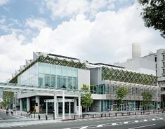 Yamanashi Prefectural Library, Japan