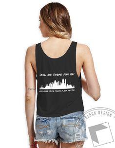 Kappa Kappa Gamma - Friends Boxy Tank by ABD BlockBuy! Available until 4/21, $20! | Adam Block Design | Custom Greek Apparel & Sorority Clothes |www.adamblockdesign.com