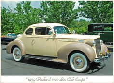1939 Packard club coupe by sjb4photos, via Flickr