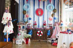 Doces Lembranças Festas Personalizadas: Festa Marinheira - Sofia 2 anos