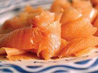 Omelete de salmão Fumado - fase 1