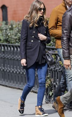 Olivia Palermo-Sneakers