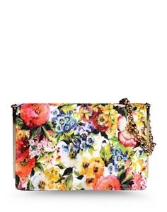 Dolce & Gabbana Floral Bag - Shop more of the best and brightest summer bags: http://www.harpersbazaar.com/fashion/fashion-articles/best-summer-bags