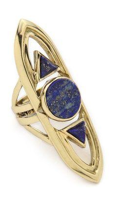 Mania Mania Archway Ring. $168