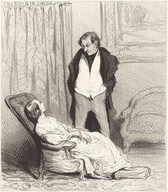 Carotte de l'écrin | Honoré Daumier, Carotte de l'écrin (1844)