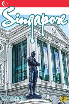 Pinnable Picture on the Post on SINGAPORE - first-timers guide to a powerful city-state Toddler Travel, Travel With Kids, Asia Travel, Solo Travel, Hill Park, Travel Guides, Travel Tips, Gardens By The Bay, City State