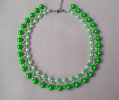 Free pattern for necklace Willow