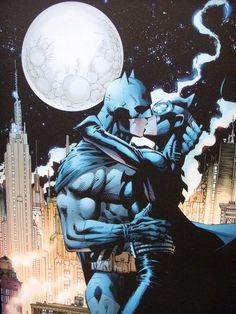 Catwoman and Batman HUSH (DC comics)