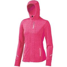 Brooks thermal hoodie with a place for your ponytail!