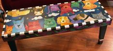 Dogs & Cats Bench