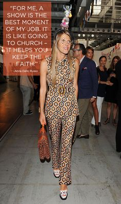 Anna Dello Russo's 17 Best Quotes | The House of Beccaria#