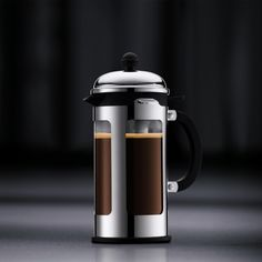 "Bodum ""Chambord"" Locking Lid French Press Coffee Maker Home - Bloomingdale's Coffee And Tea Makers, Best Coffee Maker, French Press Coffee Maker, Chambord, Camping Coffee, Tea Service, Kitchen Goods, United States, Home"