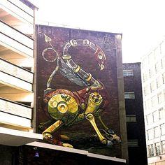 #bristol #art #building #tag #graffiti