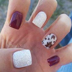 beautiful nails light nail color for fall 2019 - nail design & nail art - Nageldesign & Nailart - Fall Nail Art Designs, Short Nail Designs, Cute Nail Designs, Acrylic Nail Designs, Fall Acrylic Nails, Autumn Nails, Winter Nails, Cute Nails, Pretty Nails