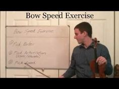 Learn Good Violin Bow Technique- Violin Bow Speed Exercise