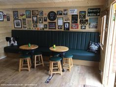 Installing a bar in your home is a great way to make sure that when you have company over everybody has a fun place to spend time together. A dedicated bar Man Cave Shed, Man Shed, Man Cave Home Bar, Diy Home Bar, Home Pub, Bars For Home, Garden Bar Shed, Garden Sheds, Shed Of The Year