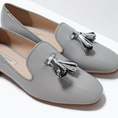 SLIP-ON WITH TASSELS-Flats-Shoes-WOMAN | ZARA United States