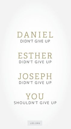 """Remember, """"God is real. He lives. He loves you. He knows you. He understands you. He knows the silent pleadings of your heart. He has not abandoned you. He will not forsake you. ... Don't give up. Seek God with all your heart. Exercise faith. Walk in righteousness."""" From #PresUchtdorf's http://pinterest.com/pin/24066179228856353 inspiring #LDSconf http://facebook.com/223271487682878 message http://lds.org/general-conference/2016/10/fourth-floor-last-door #ShareGoodness"""