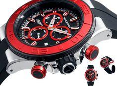 The new | viceroy | fernando alonso | chrono | sport | racing | watch | forteza | mallorca | red | black | reloj | deportivo | rojo | negro | ferrari