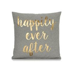 George Home Happily Ever After Slogan Cushion 43x43cm | Home & Garden | George at ASDA