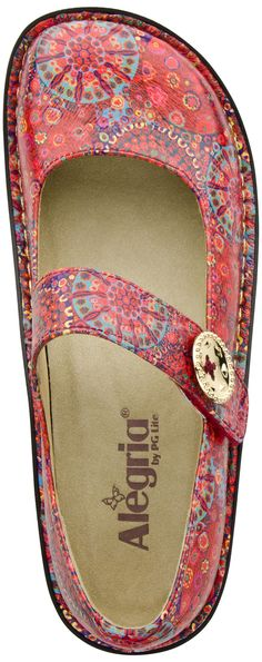Buy the Alegria Paloma Print casual shoe at PlanetShoes.com. Discover Alegria shoes ergonomically developed to provide maximum support and unparalleled comfort with your style in mind at PlanetShoes.com, your trusted source for feel-good footwear, with free shipping & returns! (Button Up)