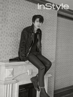 Yong Hwa - InStyle Magazine December Issue '14