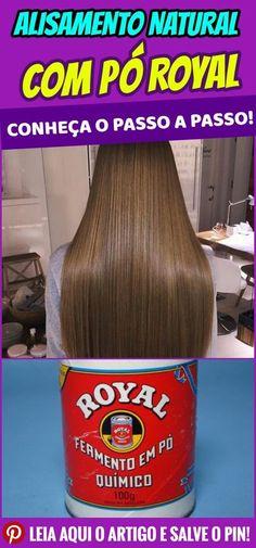 Alisamento natural com pó royal – conheça passo a passo. Pois os alisamentos naturais, reduzem o frizz do cabelo, fornecem brilho e maciez , sem danificar os fios. #dicas #truques #receitas #caseiro #beleza #cabelo #alisamentonatural #alisamentoporoyal #poroyalparaalisarcabelo #poroyal #cabeloporoyal Brunette Highlights, Colored Highlights, Straight Hairstyles, Braided Hairstyles, Cool Hairstyles, Beauty Treats, About Hair, Silver Hair, Hair Hacks